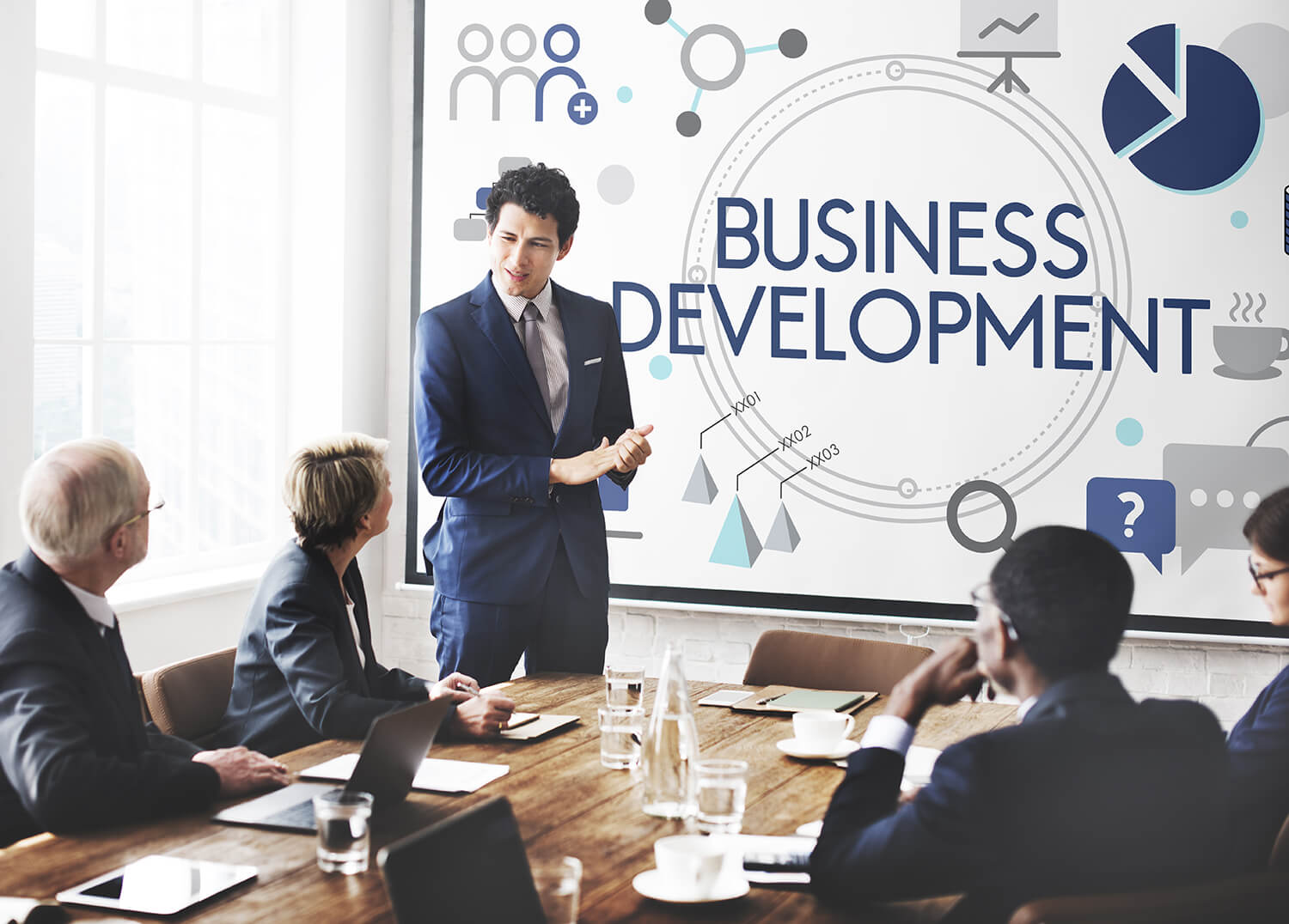 business development banner